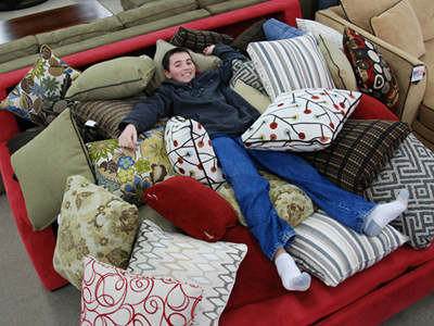 A most comfortable sofa bed