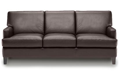 Natuzzi B548 in Dark Brown Leather