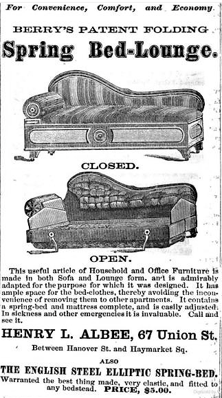 The First Sofa Bed Ever