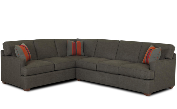 Lincoln True Sectional Sleeper Sofa by Savvy
