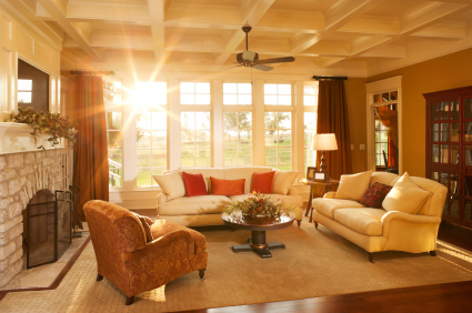 Light Tones for a Touch of Warmth in a Bright Room