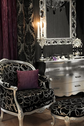 Black, White and Grey Keep a Room Bright