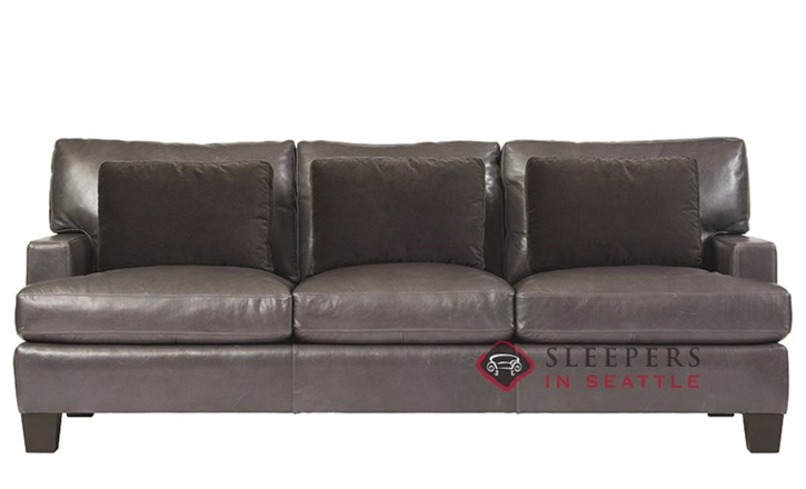 bernhardt interiors denton leather sleeper sofa