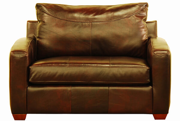 Boulder Leather Chair Sofa Bed