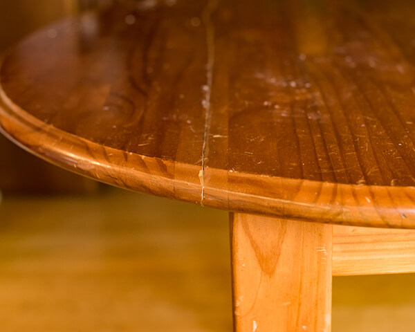 Damaged Wood Table