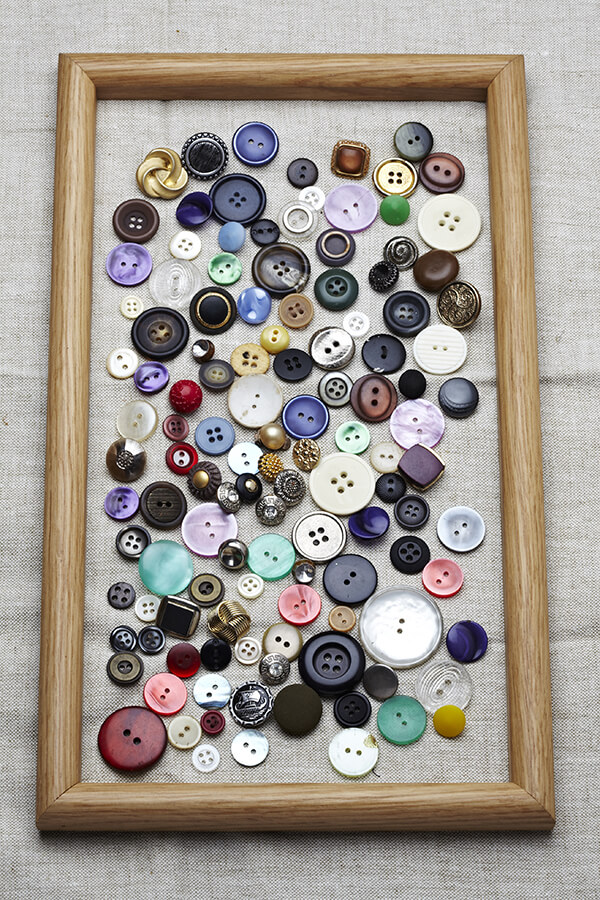 Hanging Button Art Collection