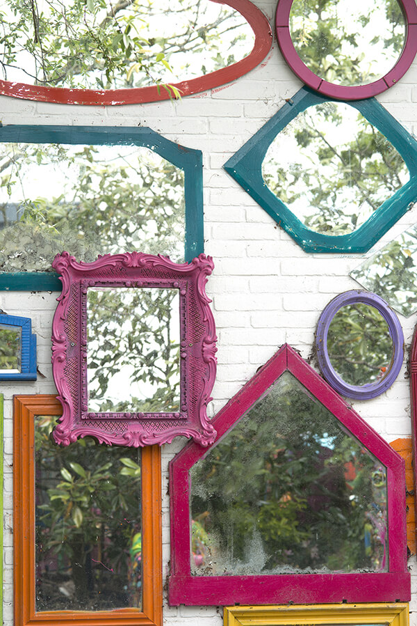 Painted Mirror Frames