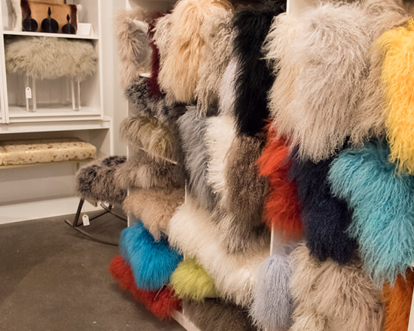 Fluffy Fake Fur on an endless variety of small items