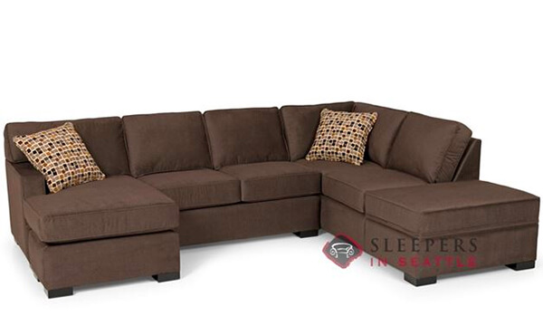 146 Dual Chaise Sectional Sleeper