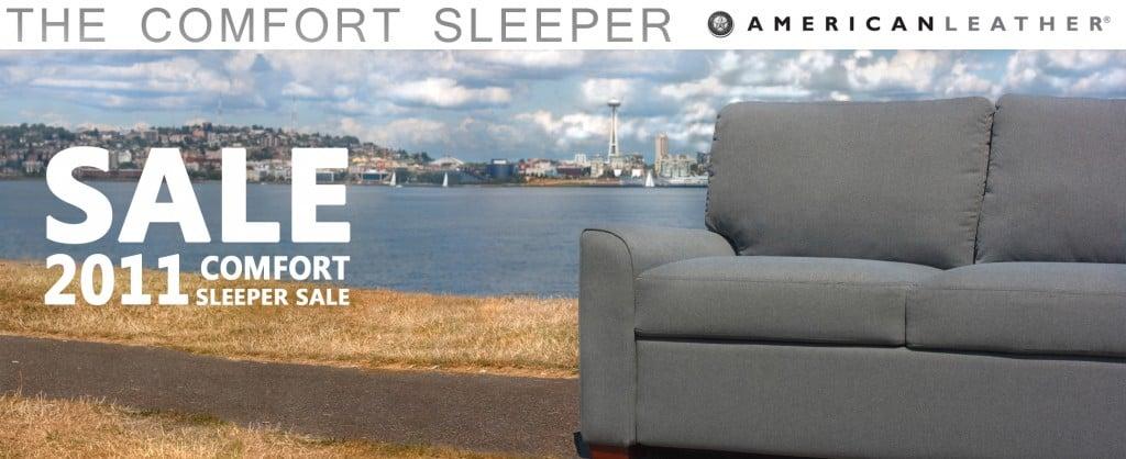 The Comfort Sleeper Sale is on now