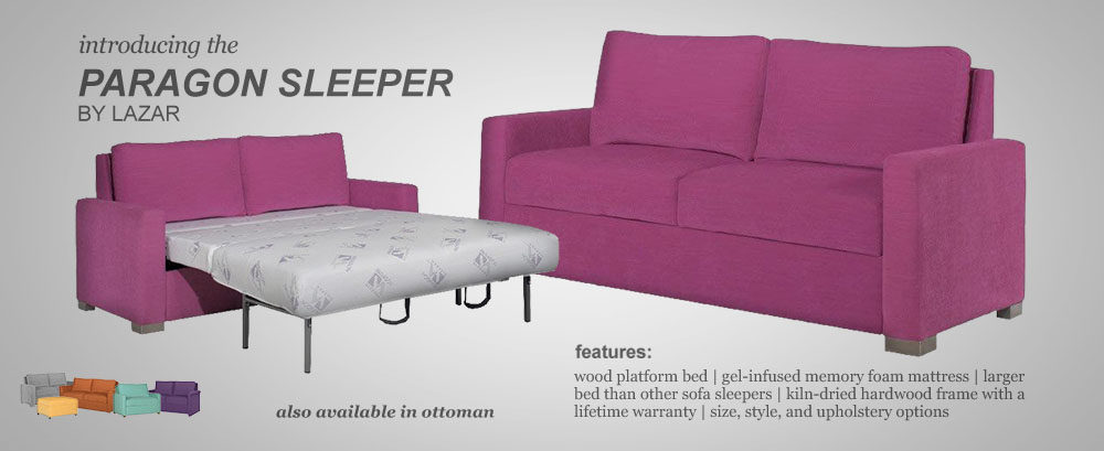 Paragon Sleeper Sofa Custom Options