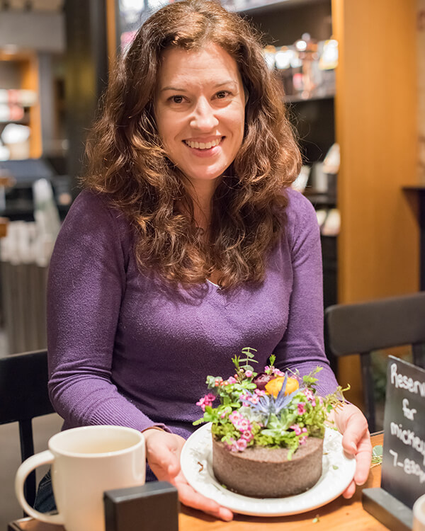 Floral Soil Design Nite at Starbucks