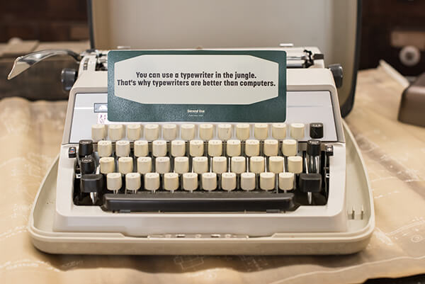 Vintage Typewriter for Decoration