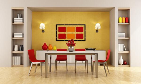 Color One Wall as a Home Decor Idea