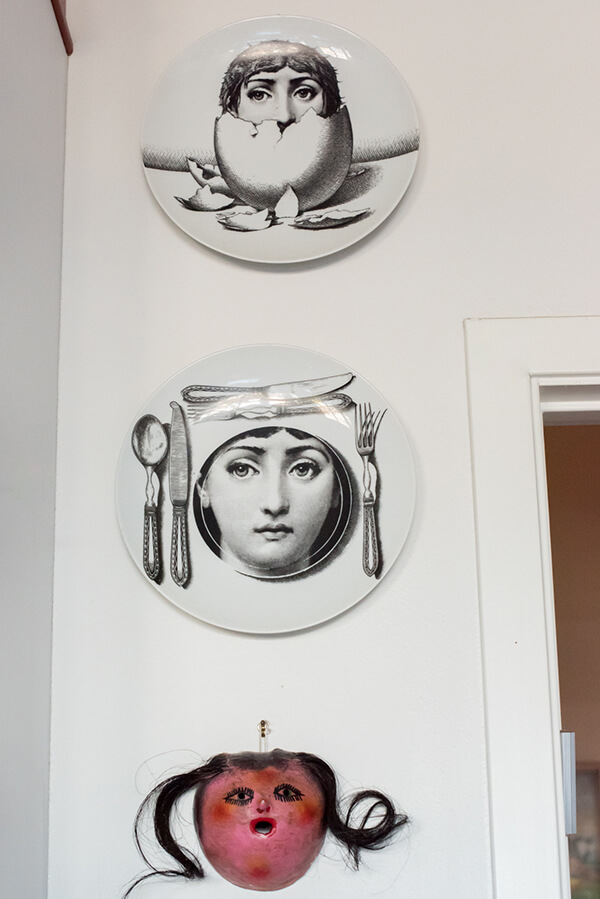 Curating and Displaying Art: Face Plates