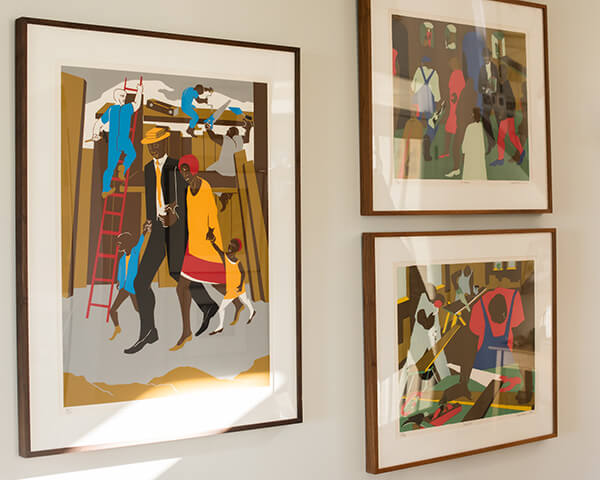 Curating and Displaying Art: Jacob Lawrence Lithos
