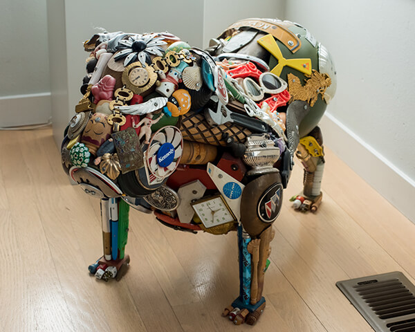 Curating and Displaying Art: Junk Dog