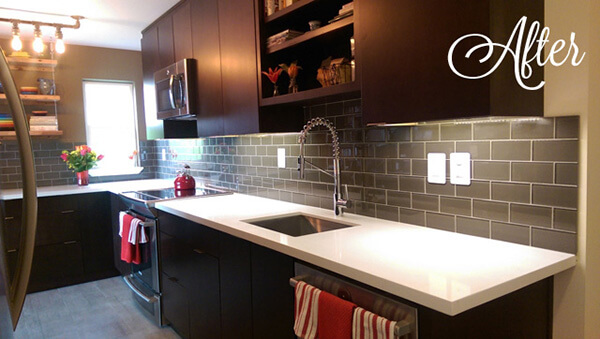 Kitchen After Transitional Design