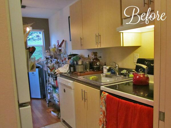 Kitchen Before Transitional Design