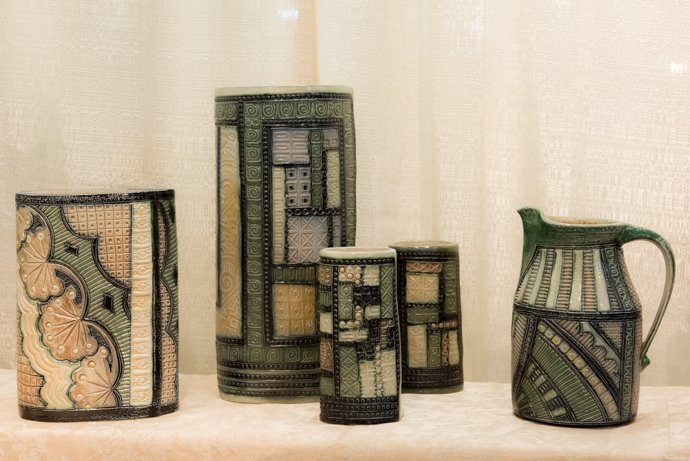 ceramic work of beauty and function by Ginger Steele